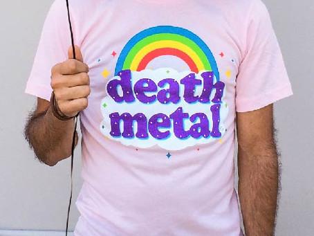 気軽に着れるDEATH METALのTシャツ!!