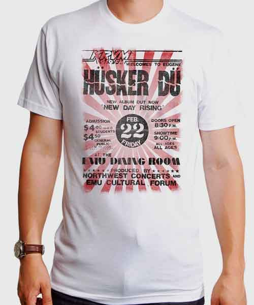 Husker Du Tシャツ New Day Rising