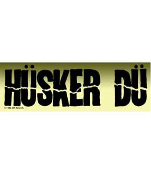 HUSKER DU ステッカー ロゴ