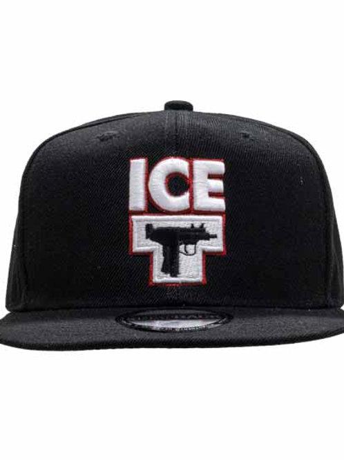 アイス T ( Ice T ) 6パネルスナップバックキャップ UZIピストル