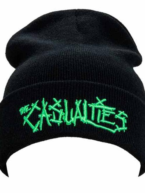 The Casualties ( カジュアリティーズ ) 刺繍ロゴビーニー