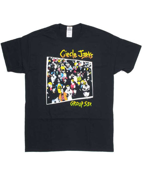 CIRCLE JERKS Tシャツ GROUP SEX
