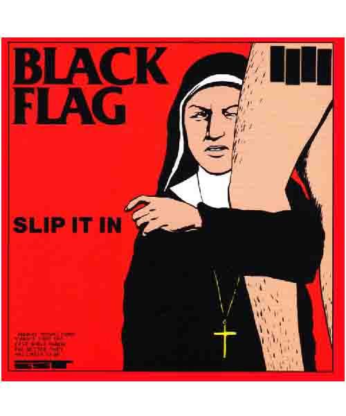 Black Flag - SLIP IT IN ステッカー