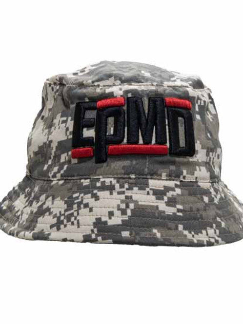 Epmd バンドロゴバケットハット デジタルカモ