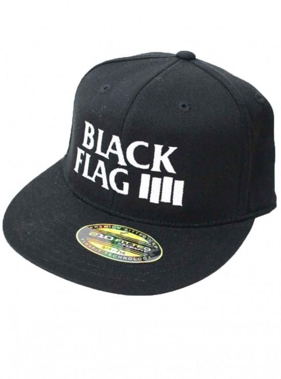ブラックフラッグ ロゴキャップ