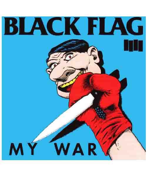 Black Flag - My Warステッカー