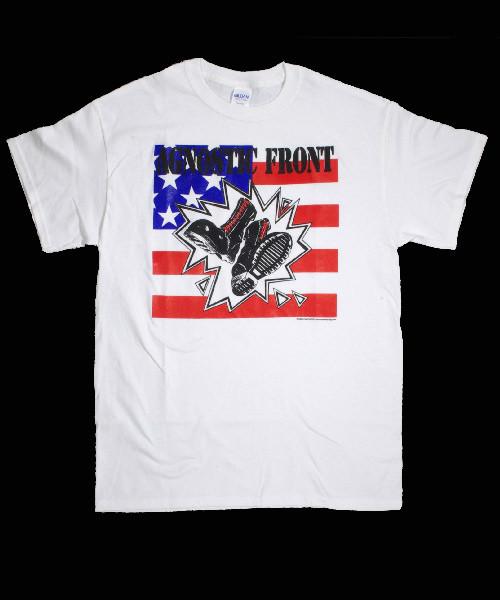 AGNOSTIC FRONT Tシャツ FLAG