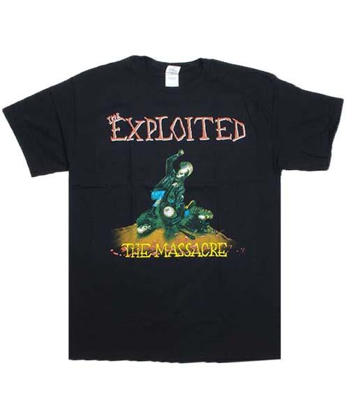 EXPLOITED Tシャツ THE MASSACRE