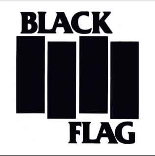ブラックフラッグ ロゴ ステッカー