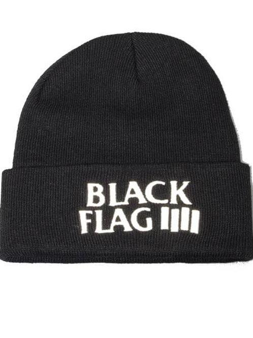 Black Flag(ブラック・フラッグ) バンドロゴビーニー