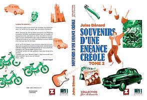 SOUVENIR D'UNE ENFANCE CREOLE-TOME2-COUV