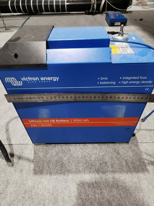 4 batteries 200Ah 25.6V LiTHIUM - Smart - Victron Energy +Cerbo GX + BMS Victron