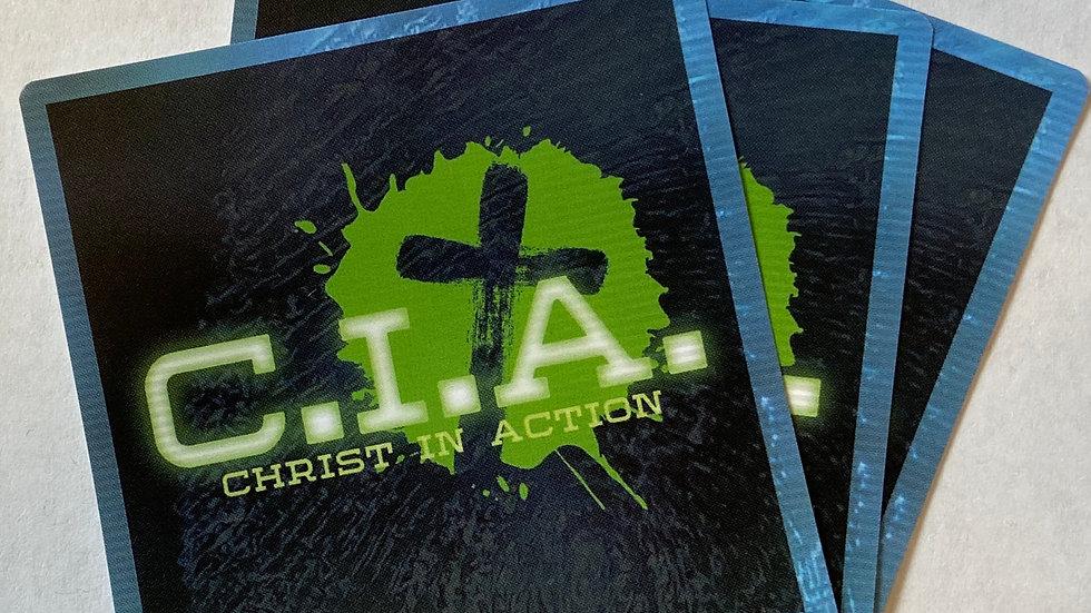 CIA Sticker Set