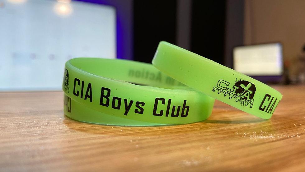 CIA Boys' Club Silicone Bracelet Set