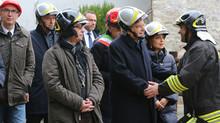 Visita del Presidente della Repubblica Mattarella nel Comune di Ussita e allo stabilimento dell'Acqu