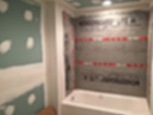 Basment remodeling bathroom addition by picture perfect home improvements