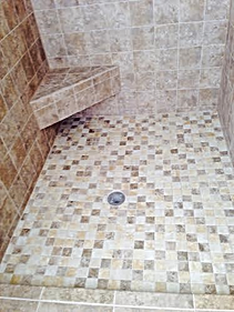 tile shower remodel by picture perfect home improvements