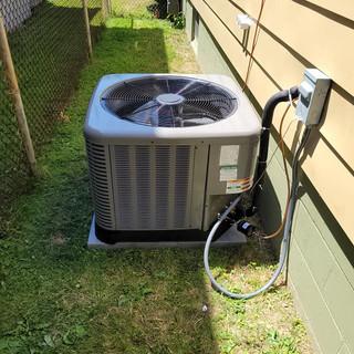 High seer AC install