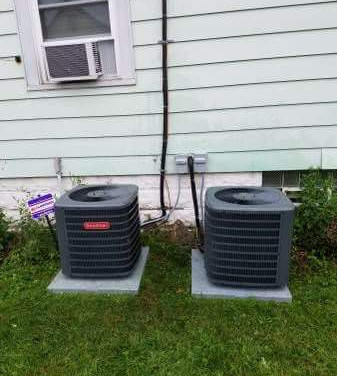 Double AC installl