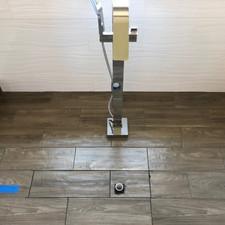 Bathroom tile floor remodel