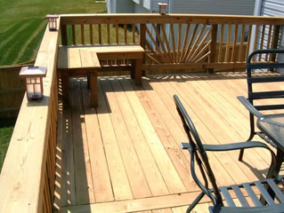 Fall season deck ideas
