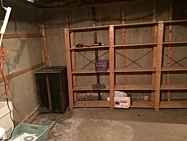 basement remodeling before