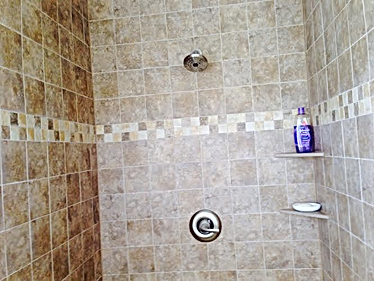 tile shower redmodel