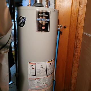 Bradford White water heater install buffalo NY
