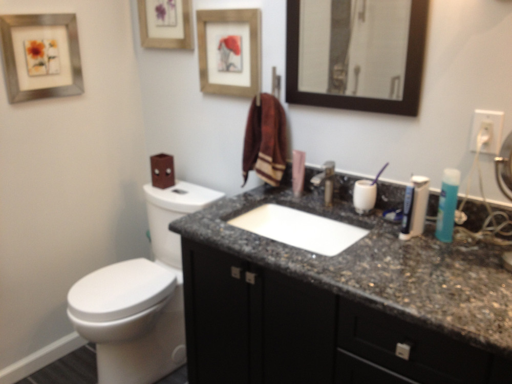 Completed Bathroom Remodel