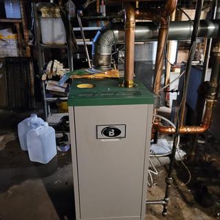 Steam Boiler install Buffalo NY