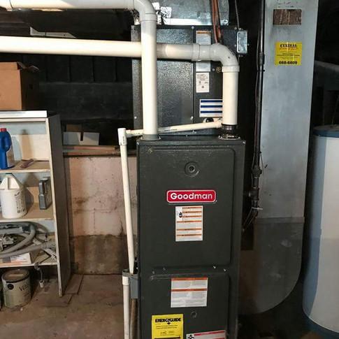 goodman furnace install