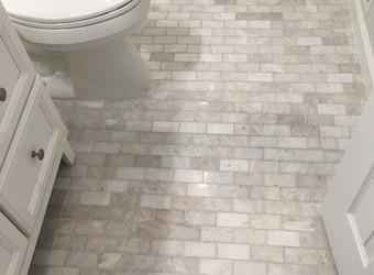 Improve Your Bathroom's Look With New Bathroom Floors