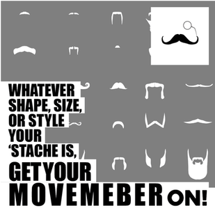 MOVEMBER: Gents it's that time of year again!
