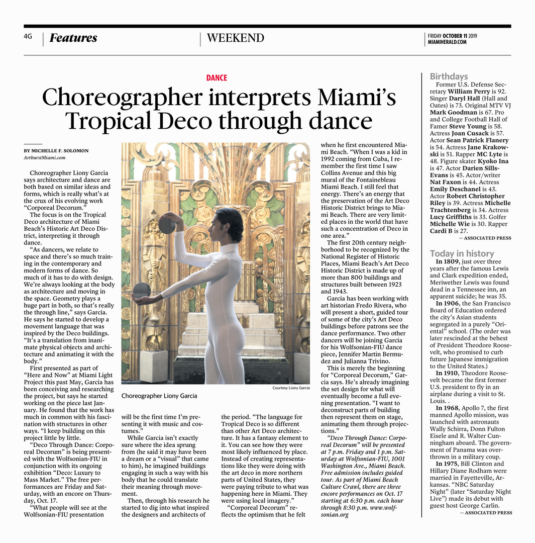 Miami Herald, Weekend Section