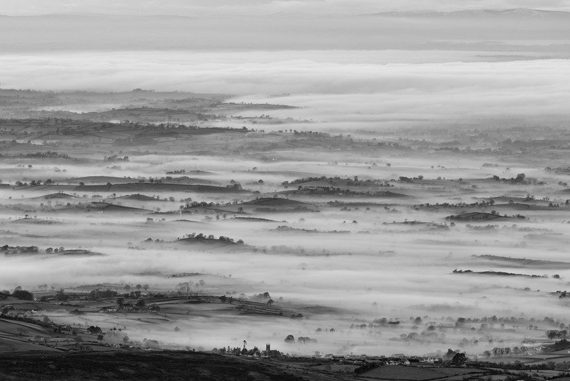 MONO - Misty County Down by Philip Blair (9 marks)