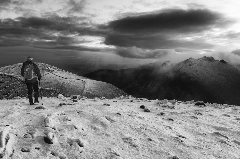 MONO - Cold Winter Walks by Philip Blair (10 marks)