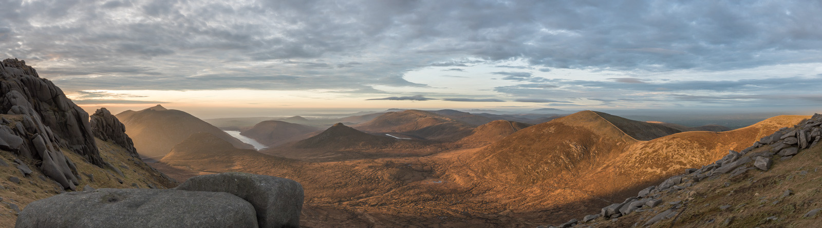 PDI - Mourne Mountains Sunrise by Philip Blair (10 marks)