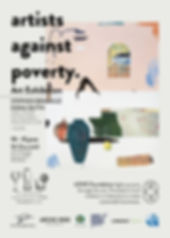 Artists Against Poverty Poster FINAL Soc