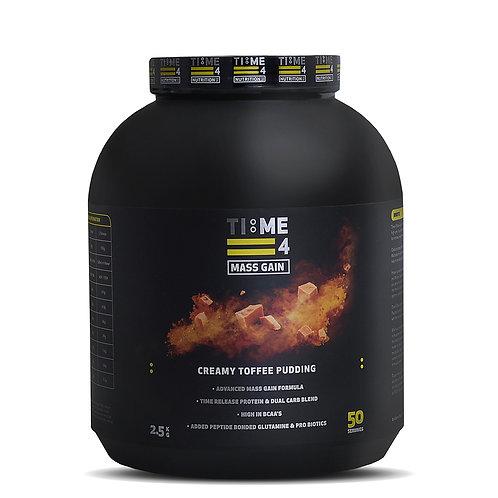 Time 4 Mass Gain 2.5kg