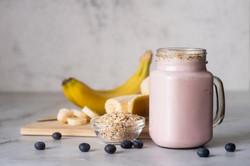 Banana Blueberry Smoothie