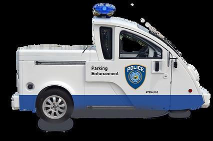 Ecoruise Parking/Patrol Vehicle