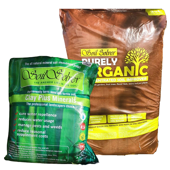 BULK BUNDLE - 1250kg of Clay Plus with 45 bags Mature Compost