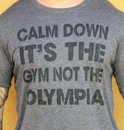 Calm down Olympia