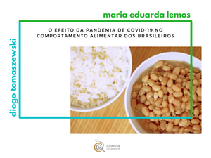 O efeito da pandemia de COVID-19 no comportamento alimentar dos brasileiros