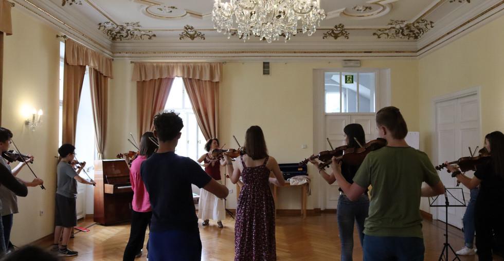 III. Suzuki Workshop in Kreisau
