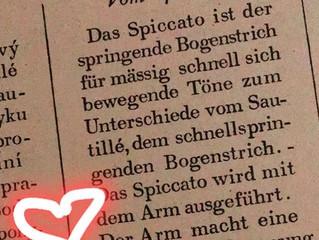 Spiccato - und das hüpfende Einhorn