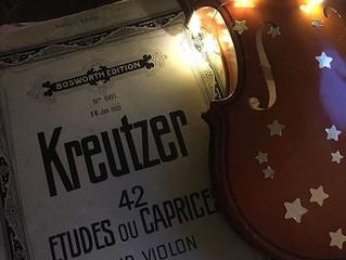 Kreutzer no. 4 - Ode an die Staccato-Etüde