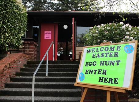 Welcome Easter Egg Hunt