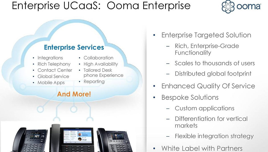 Enterprise UCaaS - Ooma Enterprise - Cloud Communications