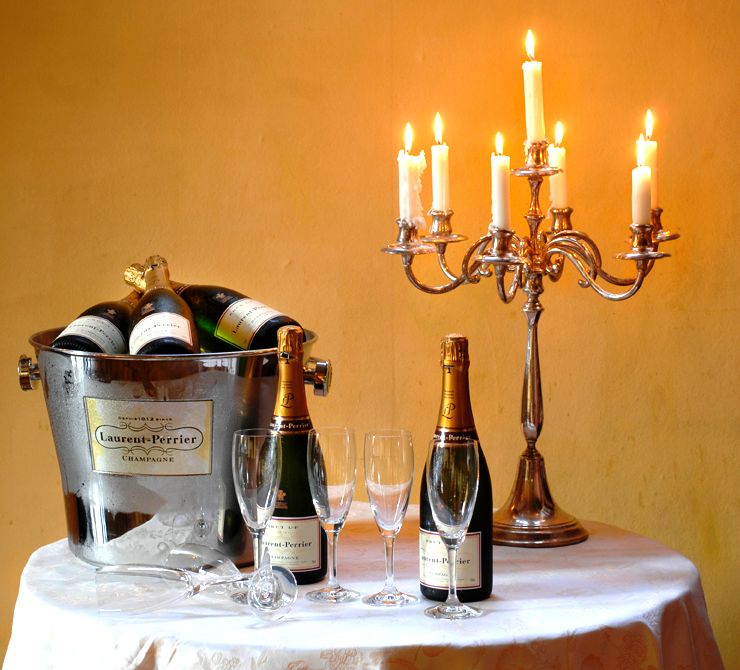 Kasteel de Wittenburg Champagne